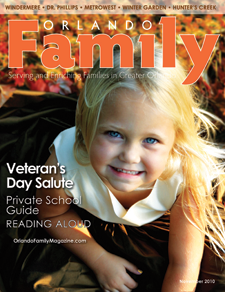 View Our Orlando Family Magazine November 2010 Issue