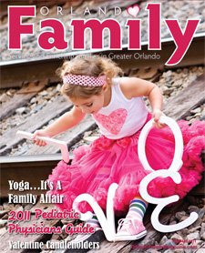 Click Area Below to View Our Orlando Family Magazine February 2011 Issue