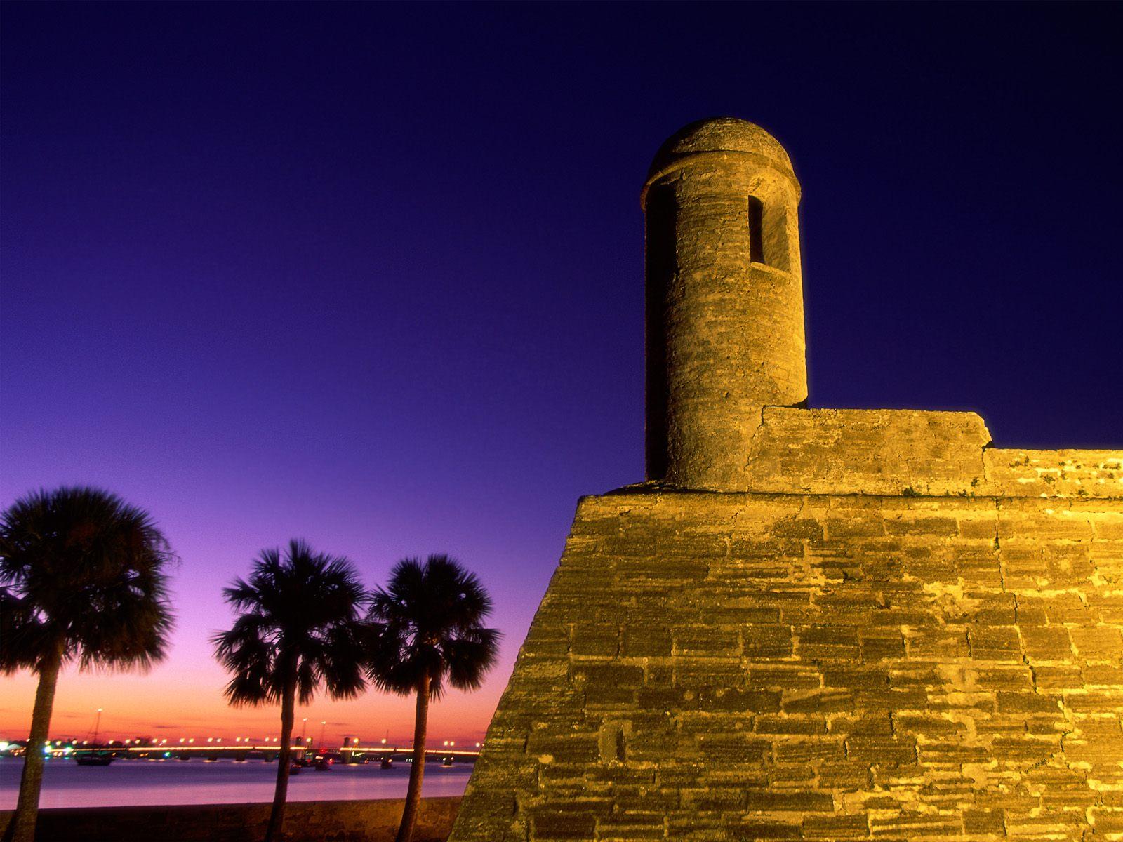 Castillo De San Marcos National Monument St Augustine Florida Pictures
