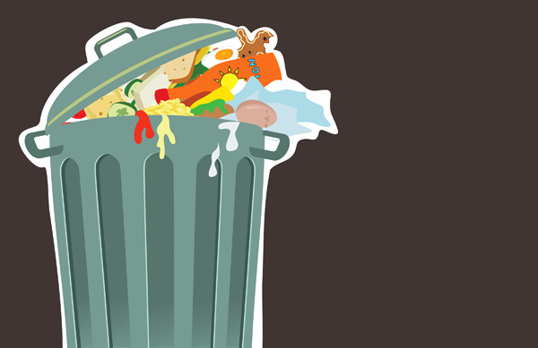 Image Is Loading Large 50l Kitchen Home Office Food Waste Paper