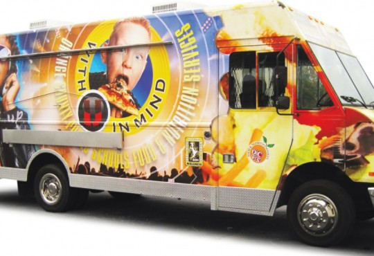 Orange County Public Schools use their food truck program to get feedback about what kids want to eat.