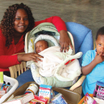 A local family served by Harvest Time International